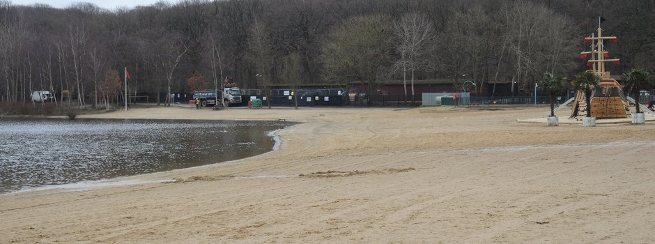 The Beach at Ruislip Lido